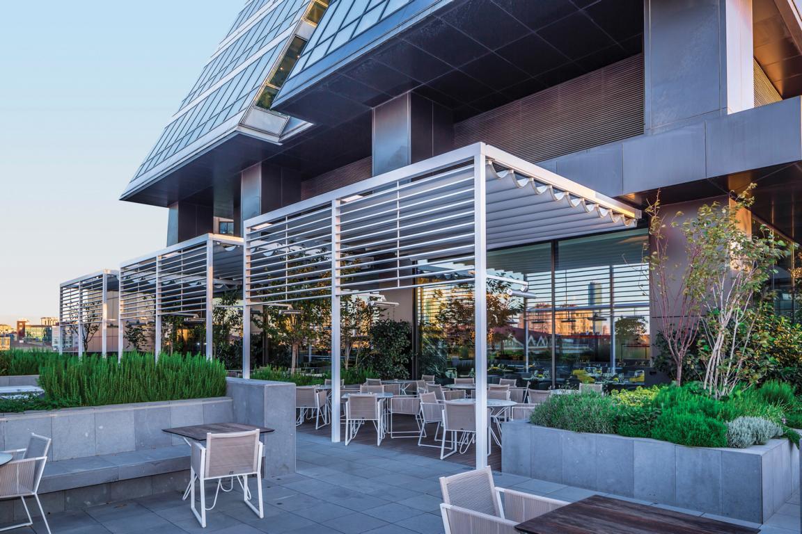 gastro terrassen berdachung behrens rolladen und. Black Bedroom Furniture Sets. Home Design Ideas